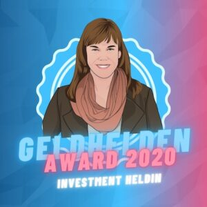Geldhelden Award 2020 Investment Heldin