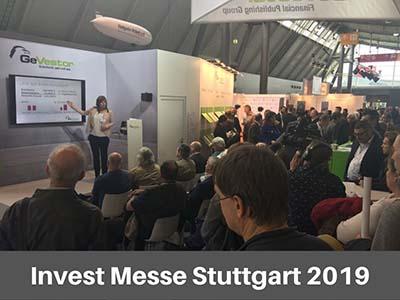 Invest Messe Stuttgart 2019