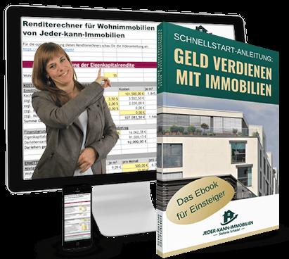 Renditerechner Immobilien mit Schnellstart-Anleitung