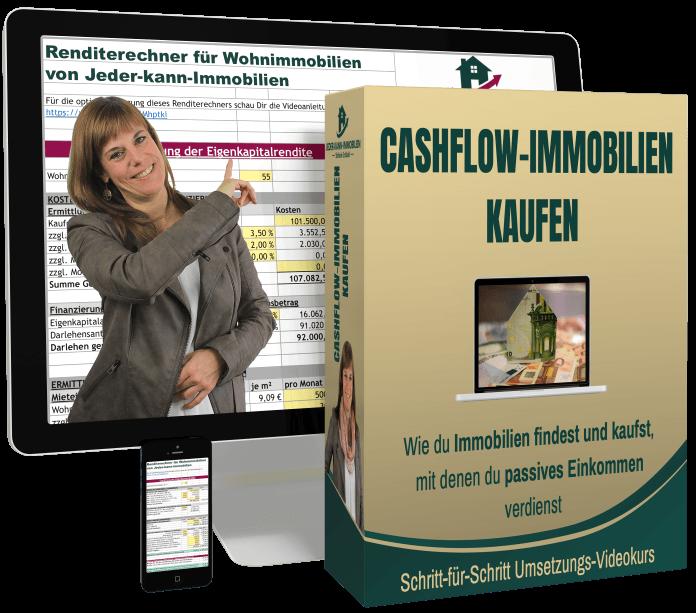 Renditerechner Immobilien mit Videokurs Cashflow-Immobilien kaufen