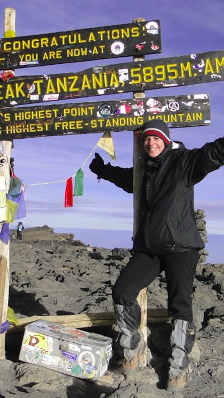 Stefanie Schädel Kilimanjaro