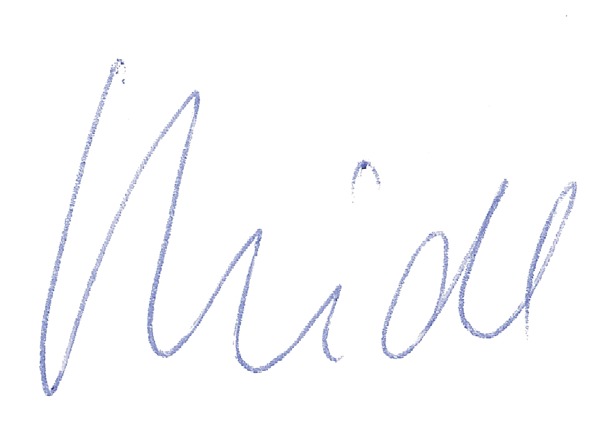 Unterschrift Nachname